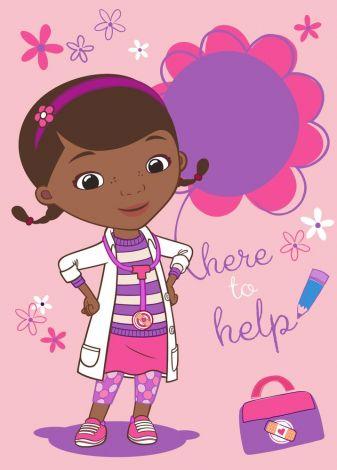 Teppich Doc Mc Stuffins - Here to help