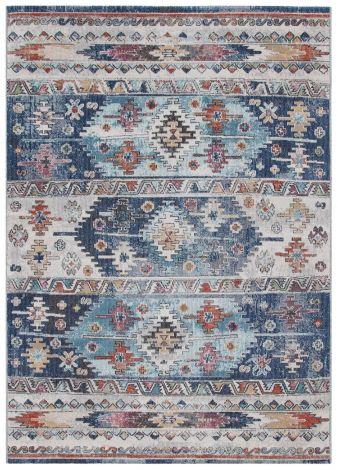 Teppich Maggio Horizontal 190x133 Blau