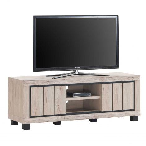 TV-Schrank Elke 145cm mit 2 Türen - Eiche