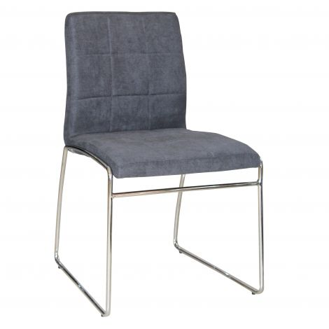 Satz von 2 Stühlen Tine - grau