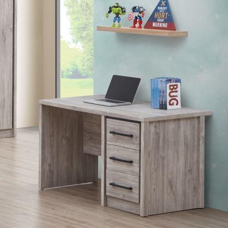Schreibtisch Sela 120cm - Eiche grau