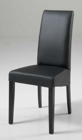 Satz von 2 Stühlen Roko - schwarz