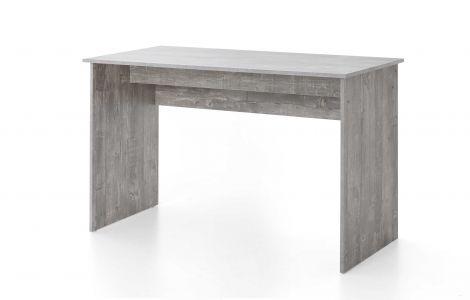 Serie Maxi-Office, Schreibtisch 125 x 60 cm - Beton Dekor