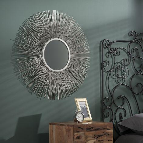Spiegel Ø80 sun - Antike Nickel