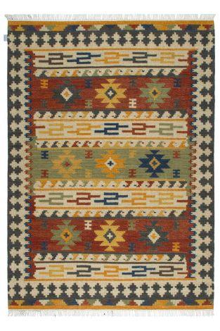 Teppich Kilim Sivas 90x60 Traditionell gewebt - Multicolour