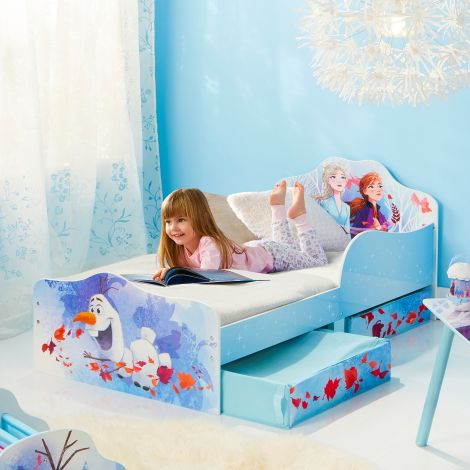 Kleinkindbett mit Bettkästen Frozen 2