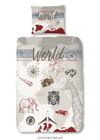 Bettwäsche Weltreise 140x220