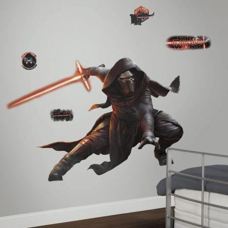 RoomMates Wandtattoo - Star Wars VII Kylo Ren mit leuchtendem Schwert