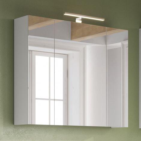 Spiegelschrank Artis/Tucker mit Beleuchtung - weiß