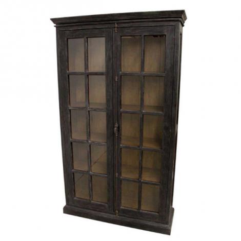 Schrank Durham 130cm mit 2 Türen - schwarz