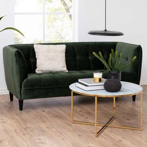 Jonna 2,5-seater sofa - black, forest green