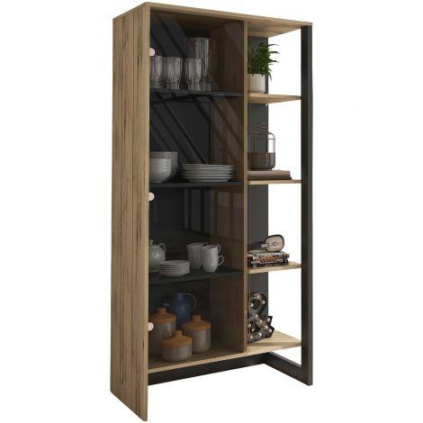 RANGEMENT JOUR - RUSSEL display unit Helvezia oak