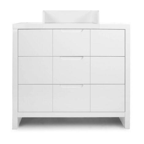 Kommode Modern Quadro White