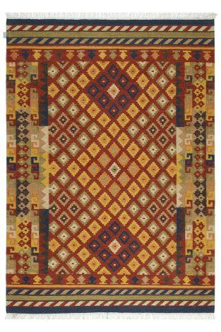 Teppich Kilim Sivas 3 200x60 traditionell gewebt - Multicolour