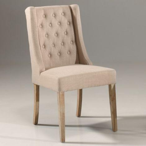 Set mit 2 Stühlen Brandon - sand