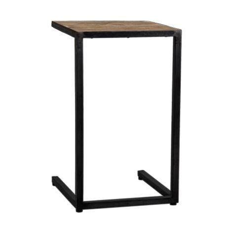 Laptop-Tisch Raffles 40x45 - braun/schwarz