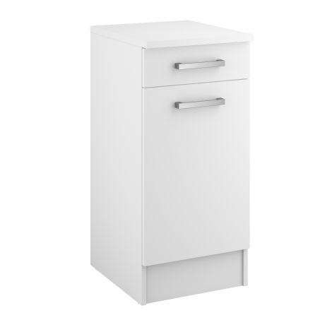 Unterschrank Uno 40x47 cm mit Schublade und Tür