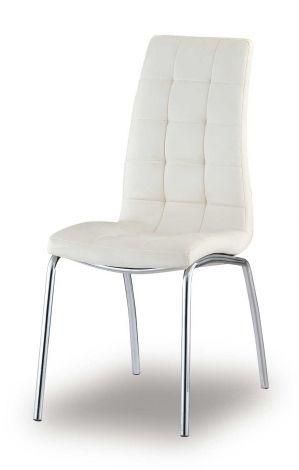 Set mit 2 Stühlen Merlino - weiß