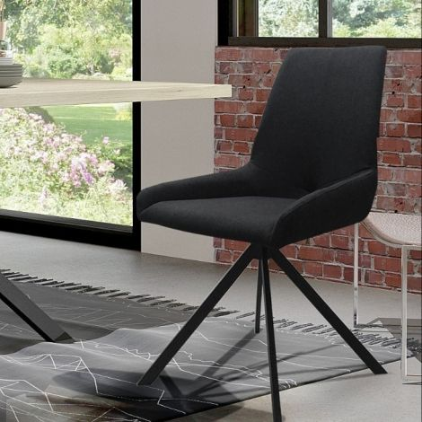 2er Set Stühle Rufus - schwarz