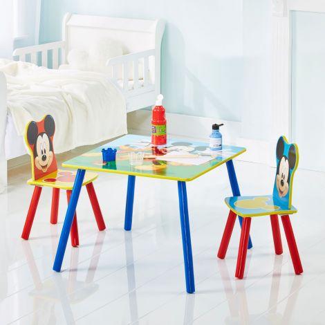 Kindertisch mit Stühlen Mickey Mouse