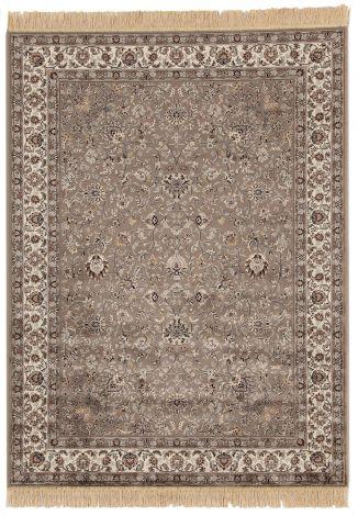 Teppich Farshian Hereke 2 190x140 - Grau