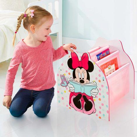 Minnie Mouse - Hängefach-Bücherregal für Kinder – Büchergestell für das Kinderzimmer