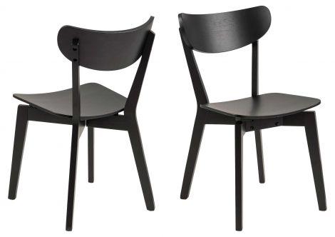 2er Set Stühle Adelaide - schwarz