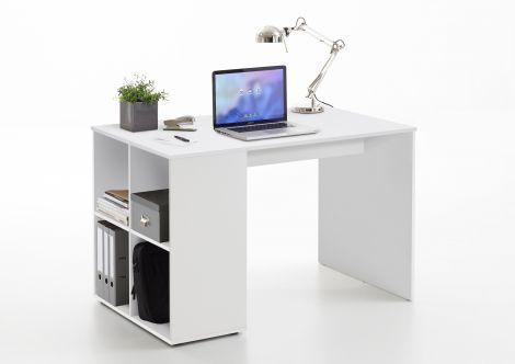 Schreibtisch Henry 117cm - weiß