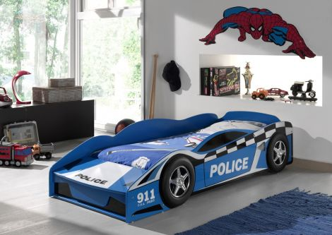Kleinkindbett Polizeiauto