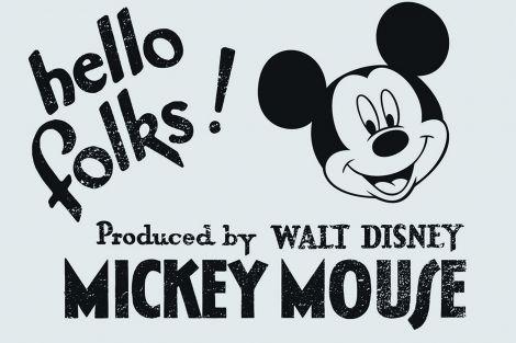 Leinwandbild Micky Maus