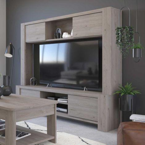 TV-Möbel Porto 180cm - grau