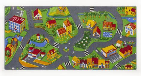 Teppich Little village - mittelgroß