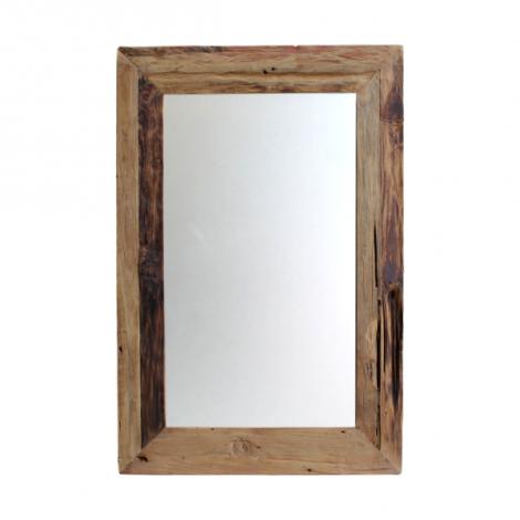 Wandspiegel Rustika 120x60cm Treibholz/Teiche