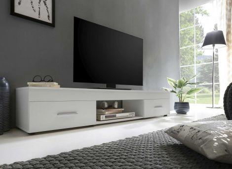 TV-Möbel Sami 2 Schubladen 160cm - weiß