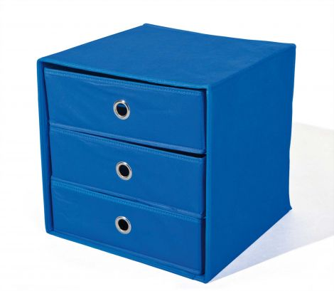 Schubladenbox Willy - blau