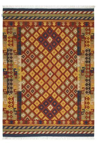 Teppich Kilim Sivas 3 300x250 traditionell gewebt - Multicolour