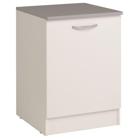 Unterschrank Eko 60 cm mit Tür - weiß