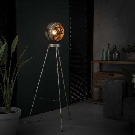 Stehlampe beam - Alt Silber Finish