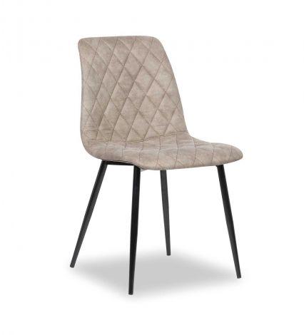 Set mit 4 Stühlen Maletto - grau