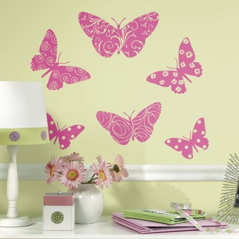 Wandsticker RoomMates - Schmetterling