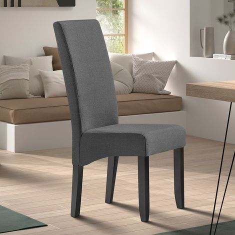 2er-Set Stühle Joan polyester - anthrazit