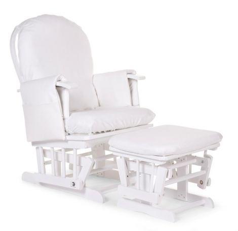 Kissenbezug Gleitender Stuhl - weiß