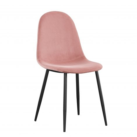 Satz von 4 Stühlen Jo - rosa