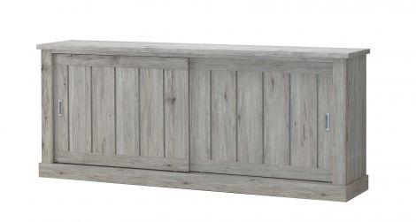Sideboard Eddy 221cm 2 Schiebetüren - Eiche