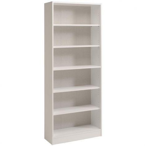 Bücherregal Sophia, weiß - Hoch, breit