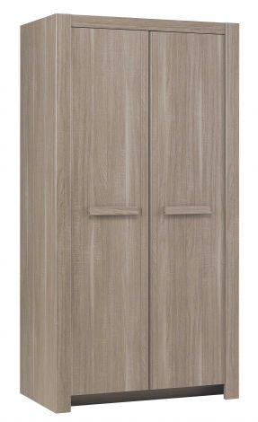 Kleiderschrank Haron mit 2 Türen