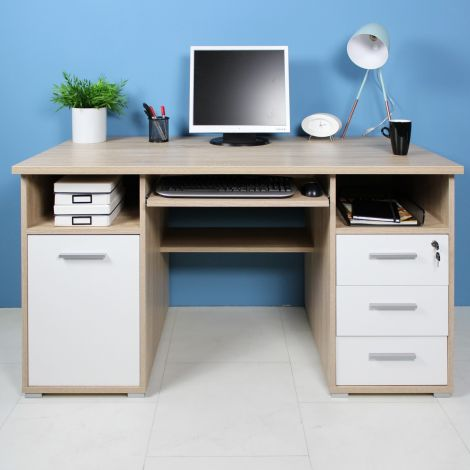Schreibtisch Beagle 145cm - Eiche