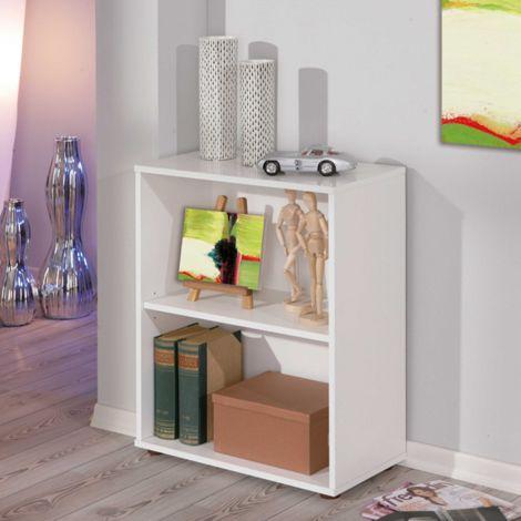 Bücherregal Parini 2 Fächer - weiß