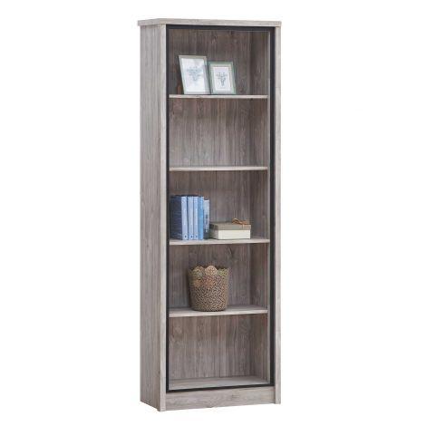 Bücherregal Sela 70cm - Eiche grau