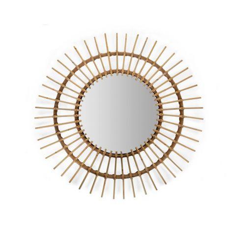 Rattan Spiegel Aura 90 Cm